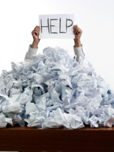 Help, stuck in a paper mess